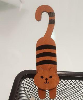 木製貓咪夾