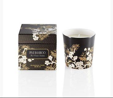 SHANGHAI TANG winter Imperial Garden Candle pine bamboo 香薰蠟燭