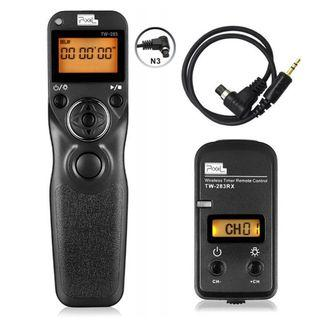 3787. Pixel TW-283 N3 Wireless Shutter Release Cable Remote Control For Canon
