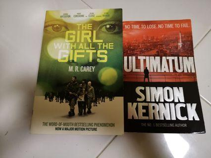 Novel Ultimatum & The Girl With All The Gifts