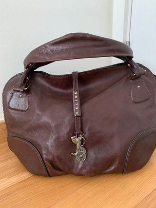 Celine handbag with horse carriage tag