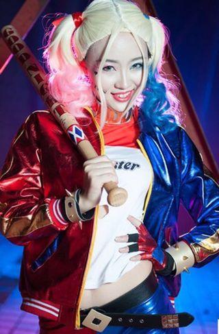 For Rent Harley Quinn Suicide Squad Costume Cosplay Complete
