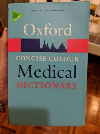 Oxford concise colour Medical Dictionary 5th Edition #EndgameYourExcess