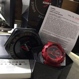 G-Shock red Watch LE