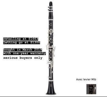 Yamaha Clarinet YCL 450E