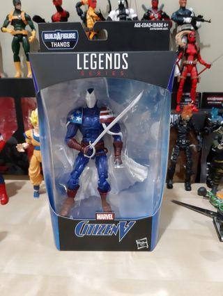 Marvel Legends CITIZEN V Baron Zemo - ml dc avengers endgame captain america hasbro 2019