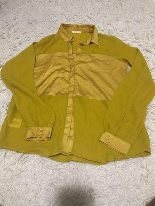 Promod Mustard Long Sleeves Top #SwapAU