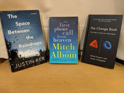 Books - The Space Between the Raindrops, The Change Book #EndgameYourExcess