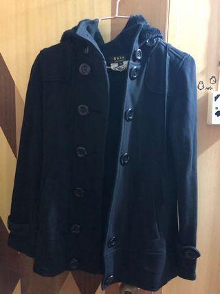 秋冬季外套,有帽(可拆)