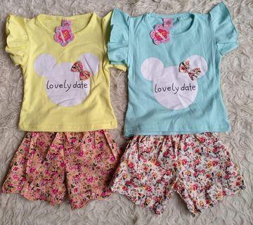 Lovely date Minnie kidswear