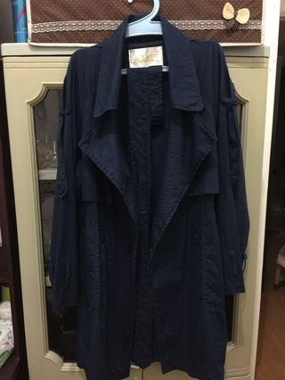 Trench coat Dark Blue