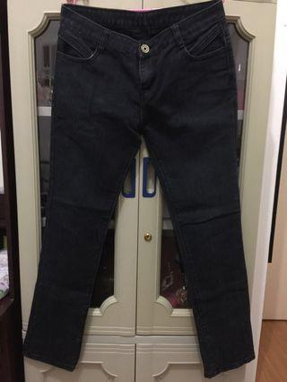 Charcoal/ faded black jeans