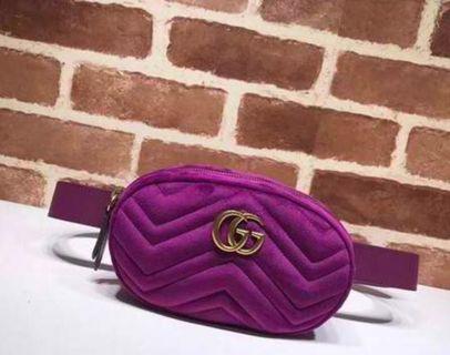 Gucci Suede Belt Bag Supreme Quality