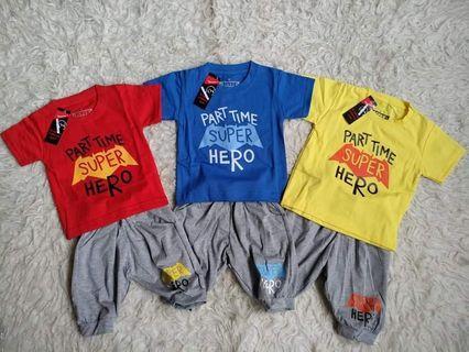 Devo set superhero