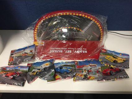 BNIB Shell F1 V-Power Lego set