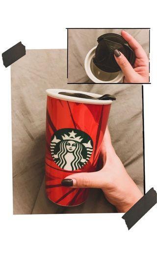 Starbucks Tumblr (355ml) - in Red