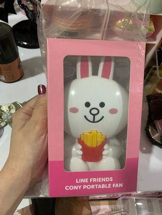 Line Friends portable fan
