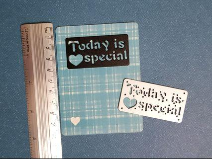 Cutting Die For Card making, Scrapbooking, Smashbook