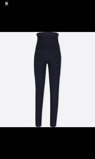 🚚 Uniqlo - maternity denim leggings