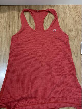 Red gym top