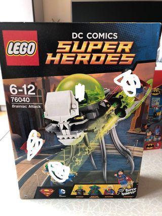 Lego 76040 Superman Brainiac Attack 無人仔 DC Batman