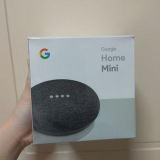 BRAND NEW Google Home Mini Charcoal
