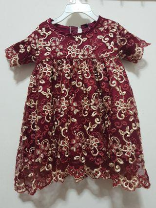 Tailor-made Baby Dress 12month