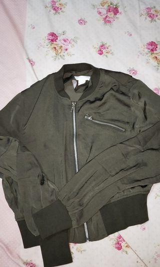 Bomber Jacket Green