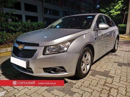 Chevrolet Cruze 1.6A (New 5-yr COE)