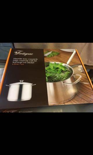 全新法國 Fontignac 大湯煲 24 cm 7.6 升 原價$1499