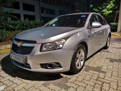 Chevrolet Cruze 1.6A Rent Lease Grab GOJEK