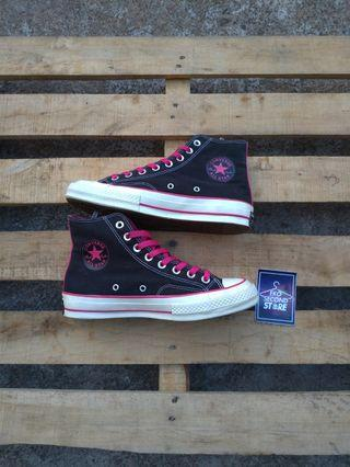 "Converse CT high 70s ""black pink"""