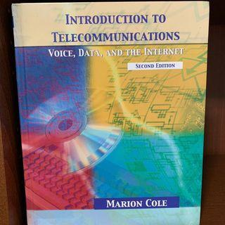 🚚 Introduction to Telecommunications通信網路原文書