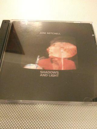 "Joni Mitchell ""Shadows and Light"" 2CDs"