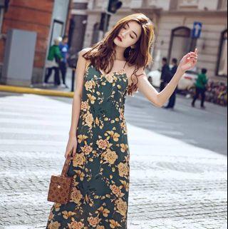 Floral Maxi Dress#SnapEndGame