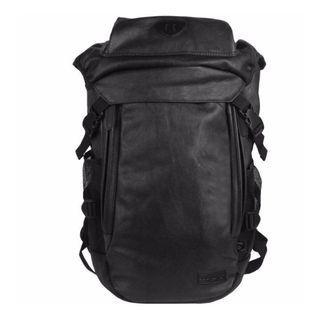 45L UniSolo Black Travel Backpack  Haversack  Bag - New