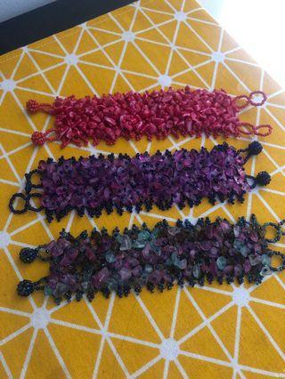 Bali bracelet/ stone bracelet#SnapEndGame