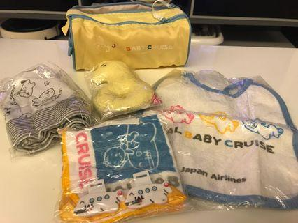JAL baby set limited edition