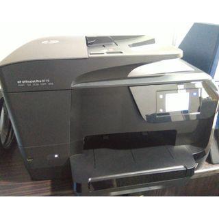 HP Officejet Pro 8710, Printer wireless all in one (web,scan,copy,print, fax)