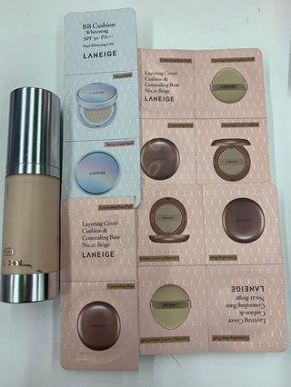 Laneige layering cover cushion & concealing base no. 21 beige cc creams