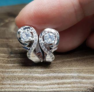 BN Elegant Brilliant-Cut Solitaire Earrings with CZ details  #ENDGAMEyourEXCESS