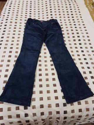 🚚 Blue velvet Jean