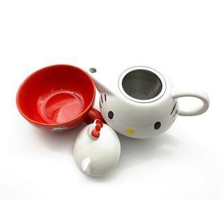 KITTY 頭型下午茶杯壺組