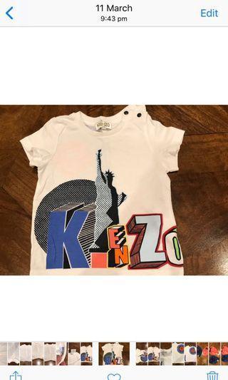 Kenzo Baby Shirt