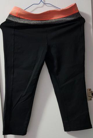 Giveaway 3/4 Pants black exercise cyclist