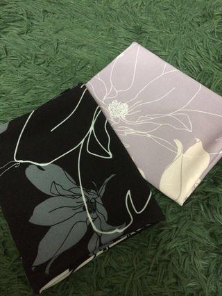 Satin silk shawl