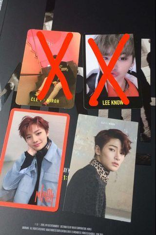WTS LEE KNOW MINHO JEONGIN MIROH STRAY KIDS PC