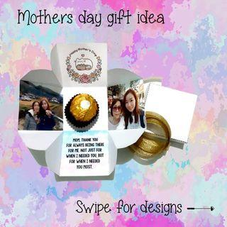 Mothers day mini explosion box