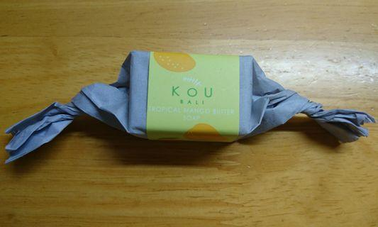 KOU BALI 峇里的骰小香梘 💕(Tropical Mango Butter Soap)