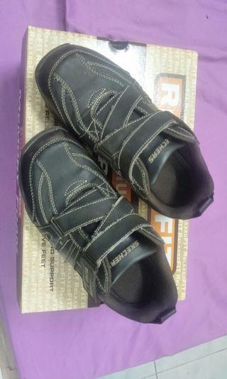 Skechers Hot Lights Deflector Boys Casual Shoes Super Z